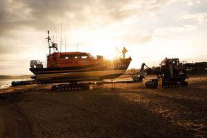 Exmouth Shannon class lifeboat R & J Welburn 13-03.