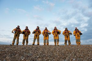 Group shot Dungeness lifeboat crew