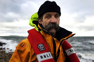Portrait shot of Howth coxswain Robert Duffy.