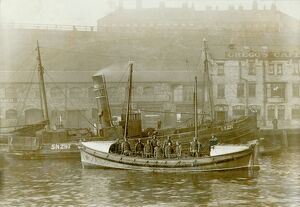 Tynemouth. Self righting motor boat. ON613