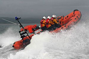 Abersoch Atlantic 75 inshore lifeboat Pride of Sherwood