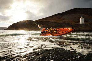 inshore lifeboats/arran lamlash atlantic 85 inshore lifeboat rachel