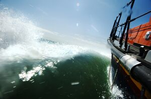 Artistic shot of Dungeness mersey class lifboat Pride and Spirit