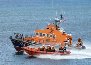 weather lifeboats/atlantic 85 b 843 geoffrey charles moving right