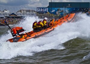 Blackpool Atlantic 75 inshore lifeboat Bickerstaffe
