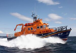 Buckie 17-37 Severn Class Lifeboat, William Blannin, viewed fro