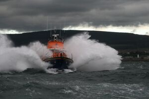 Buckie Severn Class lifeboat William Blannin