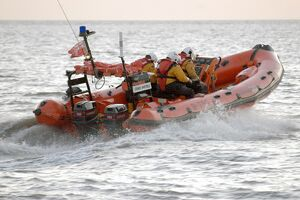 inshore lifeboats/burnham on sea atlantic 75 class lifeboat staines