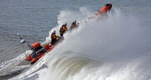 Cardigan Atlantic 85 inshore lifeboat Albatross B-871