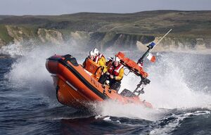 Clifden Atlantic 75 class inshore lifeboat Benjamin Downing Fairbridge