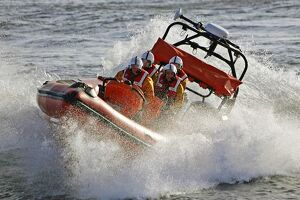 Cullercoats Atlantic 85 inshore lifeboat Hylton Burdon