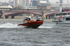 E-class lifeboat from Tower Lifeboat station on the Thames