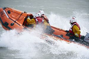 Eastbourne D-class inshore lifeboat Joan and Ted Wiseman