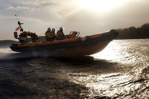 Enniskillen Atlantic 75 class inshore lifeboat Manchester Unity of Oddfellows