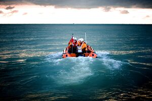 Hastings D-class inshore lifeboat Daphne May