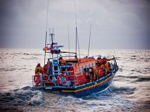 Hastings mersey class lifeboat Sealink Endeavour