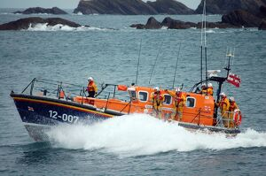Ilfracombe Mersey class lifeboat Spirit of Derbyshire 12-007