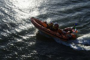 Kinsale Atlantic 75 inshore lifeboat Miss Sally Anne (Baggy) 1