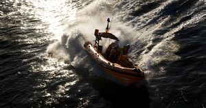 Kinsale Atlantic 75 inshore lifeboat Miss Sally Anne (Baggy) 3
