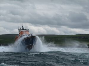Kirkwall Severn class lifeboat Margaret Foster