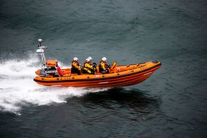 Kyle of Lochalsh Atlantic 85 inshore lifeboat Spirit of Fred Olsen B-856
