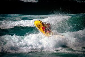 lifeguards/lifeguard rescue watercraft rwc surf perranporth