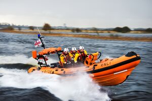 Lough Ree Atlantic 75 inshore lifeboat Dorothy Mary B-728