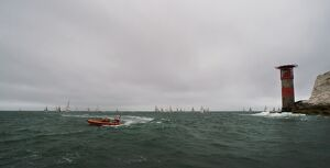 Lymington Atlantic 75 inshore lifeboat Victor Danny Lovelock