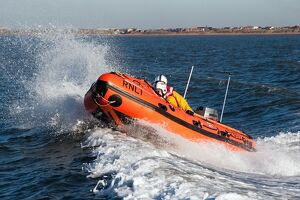 Lytham St Annes D-class inshore lifeboat Sally D-657.
