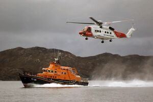 Mallaig severn class lifeboat Henry Alston Hewat