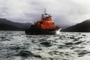 Mallaig severn class lifeboat Henry Alston Hewat 17-26.