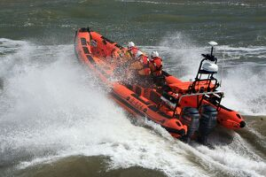 Minehead Atlantic 85 inshore lifeboat Richard and Elizabeth Deaves B-824