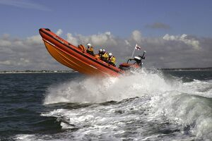 Mudeford Atlantic 85 class lifeboat Mudeford Servant