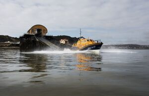 The Mumbles Tamar class lifeboat Roy Barker IV 16-27