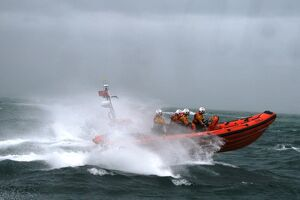 Poole Atlantic 85 class inshore lifeboat Sgt Bob Martin