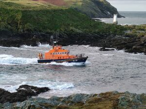 Port St Mary Trent class lifeboat The Gough Ritchie II