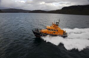 Portree trent class lifeboat Stanley Watson Barker 1