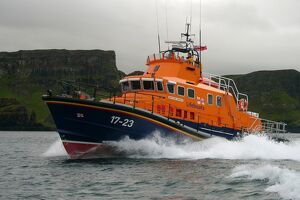 Portrush Severn class all weather lifeboat Katie Hanan