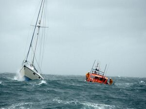 Pwllheli Mersey class lifeboat Lilly and Vincent Anthony