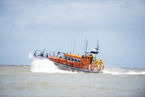 Relief Mersey class lifeboat Mary Margaret 12-28 at Eastbourne