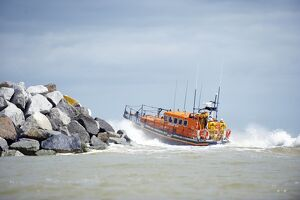 Relief Mersey class lifeboat Mary Margaret at Eastbourne