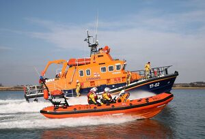 Relief severn class lifeboat The Will 17-02 and Harwich Atlantic