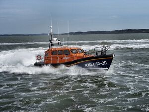 Selsey Shannon class lifeboat Denise and Eric 13-20