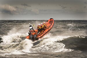 Sheringham Atlantic 85 inshore lifeboat The oddfellows
