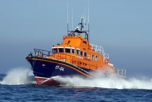 St Peter Port severn class lifeboat Spirit of Guernsey