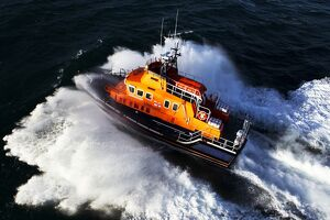 Stornoway Severn class lifeboat Tom Sanderson