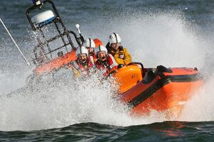 SUNDERLAND RNLI'S ATLANTIC 85 LIFEBOAT WOLSELEY