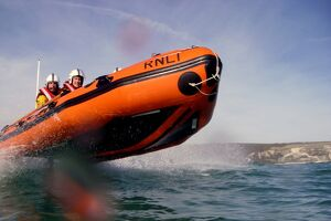 Swanage D Class inshore lifeboat