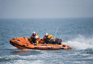 Swanage D-class inshore lifeboat Jack Cleare