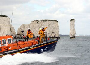 weather lifeboats/swanage mersey class lifeboat robert charles brown
